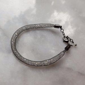 Silver Toned Bracelet Flexible